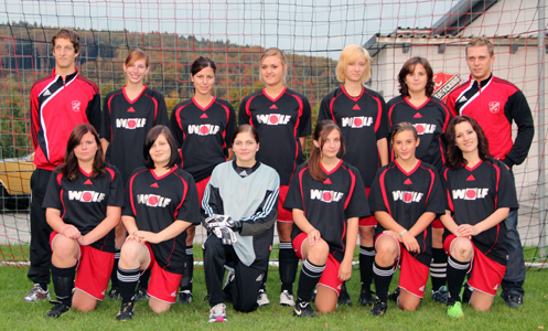 Fussball-Damenteam 2011 2012